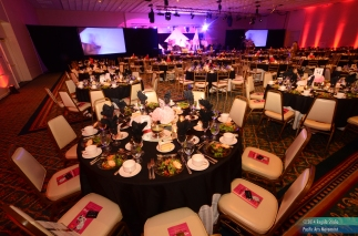 Awards Ceremony Table Setup